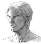 Logan sketch for Anvil of Tears
